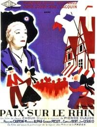 Paix sur le Rhin affiche du film