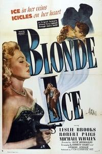 Blonde Ice affiche du film