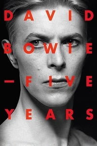 copertina film David+Bowie%3A+Five+Years 2013