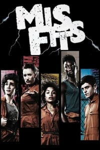 copertina serie tv Misfits 2009