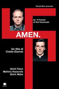 copertina film Amen. 2002