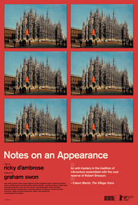 copertina film Notes+on+an+Appearance 2018