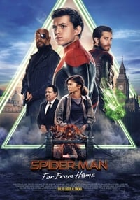 copertina film Spider-Man%3A+Far+from+Home 2019