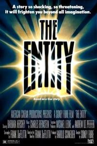 copertina film Entity 1982