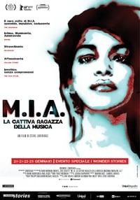 copertina film M.I.A.+-+La+cattiva+ragazza+della+musica 2018