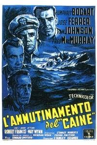 copertina film L%27ammutinamento+del+Caine 1954