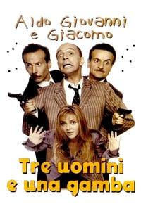 copertina film Tre+uomini+e+una+gamba 1997