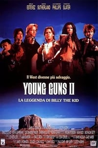 copertina film Young+Guns+II+-+La+leggenda+di+Billy+the+Kid 1990