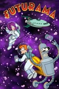 copertina serie tv Futurama 1999