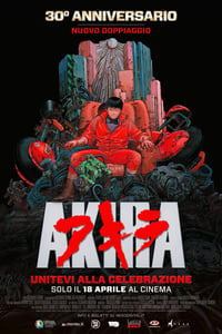 copertina film Akira 1988