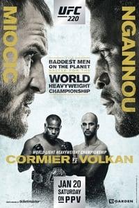 copertina film UFC+220%3A+Miocic+vs.+Ngannou 2018