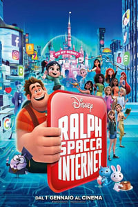 copertina film Ralph+spacca+Internet 2018