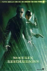 copertina film Matrix+Revolutions 2003