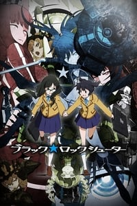 copertina serie tv Black+Rock+Shooter 2012