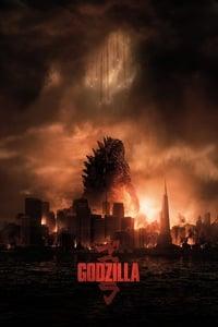 copertina film Godzilla 2014