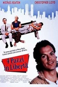 copertina film 4+pazzi+in+libert%C3%A0 1989
