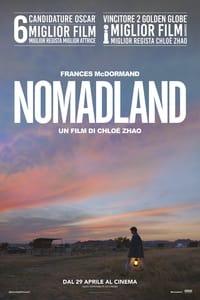copertina film Nomadland 2021