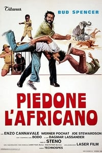 copertina film Piedone+l%27africano 1978