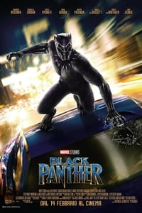 copertina film Black+Panther 2018