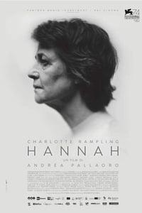 copertina film Hannah 2017