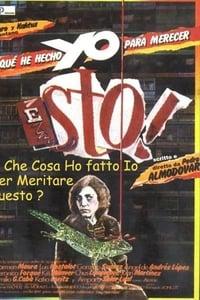 copertina film Che+ho+fatto+io+per+meritare+questo%3F 1984