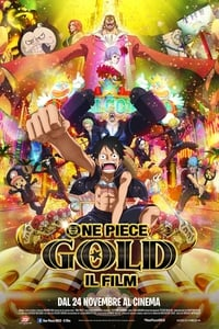 copertina film One+Piece%3A+Gold 2016