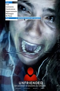 copertina film Unfriended 2015