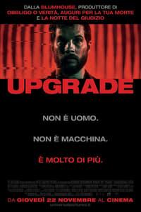 copertina film Upgrade 2018