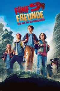 copertina film The+Famous+Five+and+the+Valley+of+Dinosaurs 2018