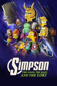 copertina film The+Simpsons%3A+The+Good%2C+the+Bart%2C+and+the+Loki 2021