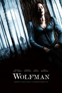 copertina film Wolfman 2010