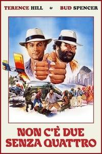 copertina film Non+c%27%C3%A8+due+senza+quattro 1984