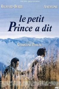 copertina film Il+piccolo+principe+ha+detto 1992