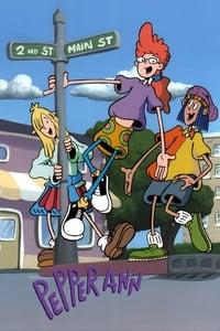 copertina serie tv Pepper+Ann 1997