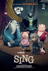 copertina film Sing 2016
