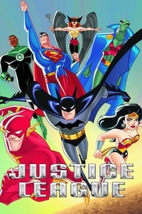 copertina serie tv Justice+League 2001