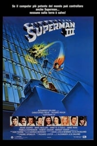 copertina film Superman+III 1983