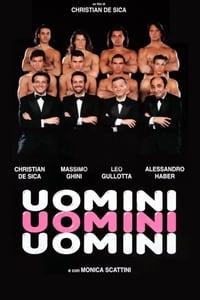 copertina film Uomini+Uomini+Uomini 1995