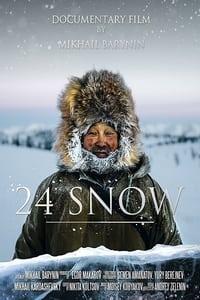 24 снега