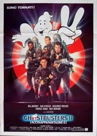 copertina film Ghostbusters+II 1989