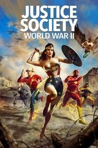 copertina film Justice+Society%3A+World+War+II 2021