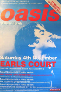 Oasis Live @ Earls Court 1995