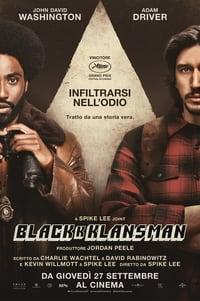 copertina film BlacKkKlansman 2018