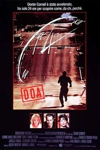 copertina film D.O.A.+-+Cadavere+in+arrivo 1988
