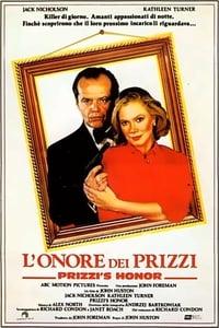 copertina film L%27onore+dei+Prizzi 1985