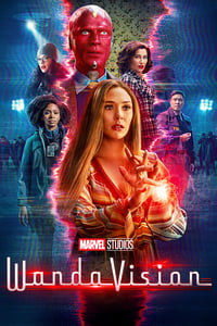 copertina serie tv WandaVision 2021