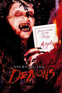 copertina film La+notte+dei+demoni 1988