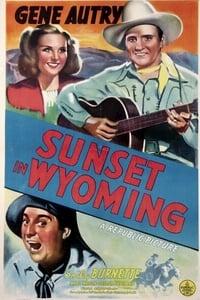 Sunset in Wyoming
