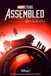 copertina serie tv Marvel+Studios%3A+Assembled 2021