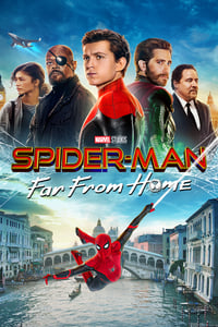 copertina film Spider-Man%3A+Far+from+Home 2019